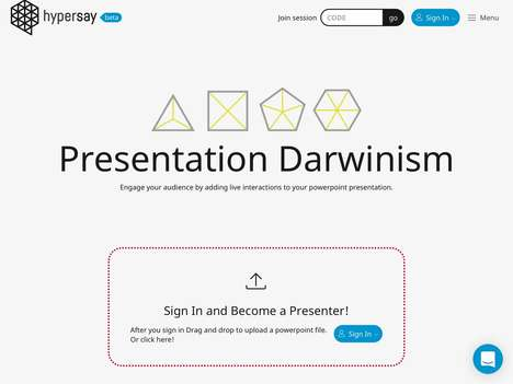 Engaging Presentation Tools - Startup Hypersay Ensures Audience Engagement With Interactive Slides