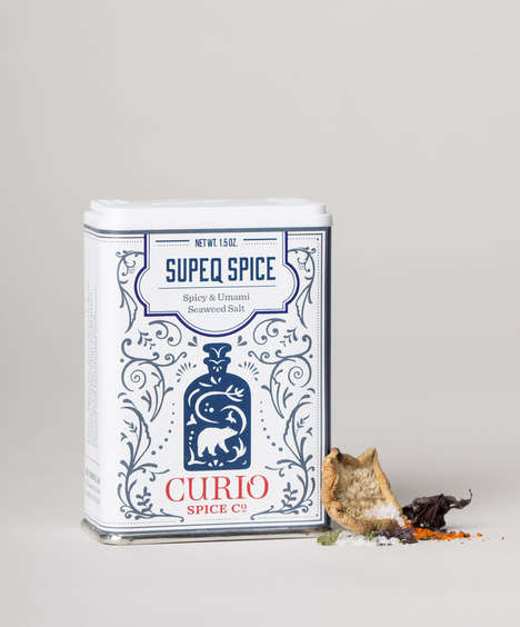 Umami Seaweed Salts - Curio Spice Co.'s Spicy Seasoning Salt Boasts Ginger, Seaweed and Shiitake