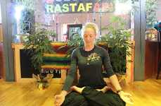 Cannabis-Friendly Yoga Classes - Colorado's One Love Club Combines Offers Pot-centric Yoga Classes