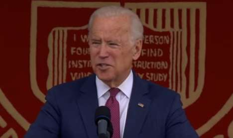 The Power of the Millennial Generation - Joe Biden's Commencement Speech Inspires Hope