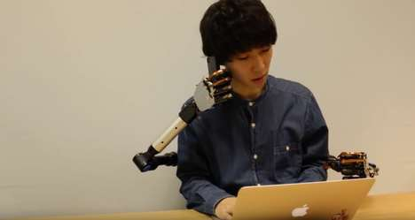 Functional Robotic Limbs - This Robotic Limb System Would Give Wearers an Extra Pair of Arms