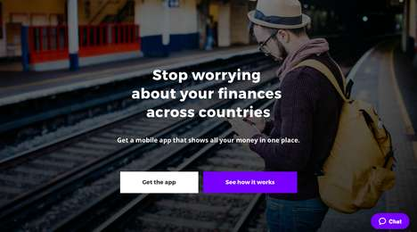 Nomadic Finance Apps - The Combine App Makes Banking Easier for Frequent Travellers and Expats