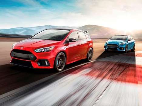 Fanmade Hot Hatchbacks - The Focus Rs Limited Edition Has Features Requested by Enthusiasts