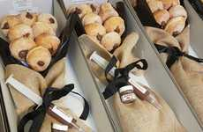 Choco-Hazelnut Donut Bouquets - This Australian Shop Lets You Gift Someone a Nutella Donut Bouquet