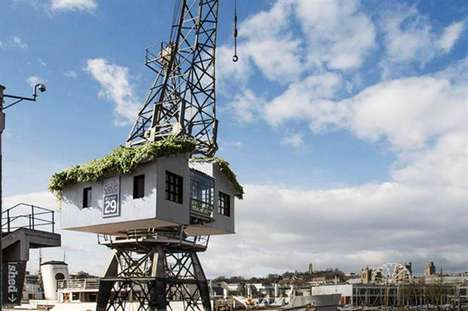 Elevated Crane Treehouses
