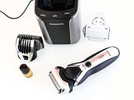 Self-Cleaning Hair Trimmers