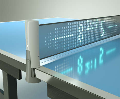 Digitized Pingpong Nets - The 'Smart Net' Automatically Keeps Score with an Infrared Sensor