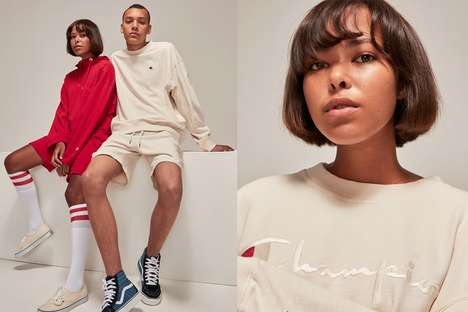 Simplified Athleisure Collaborations