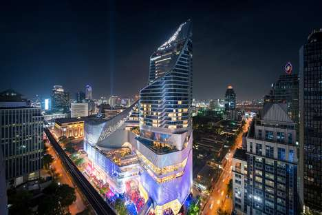 Luxurious Art-Focused Hotels - The Park Hyatt Bangkok is Attached to a Luxury Shopping Mall