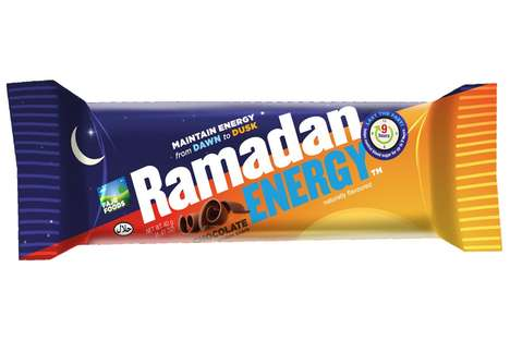 Fasting Energy Bars - The Ramadan Energy Bar is a Supplement to Food to Be Eaten Before Sunrise