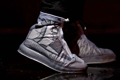 Printed Sneaker Bags
