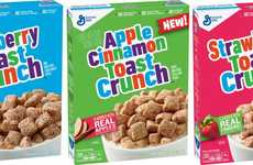 Fruity Cinnamon Breakfast Cereals - Cinnamon Toast Crunch Cereal is Being Expanded with New Flavors