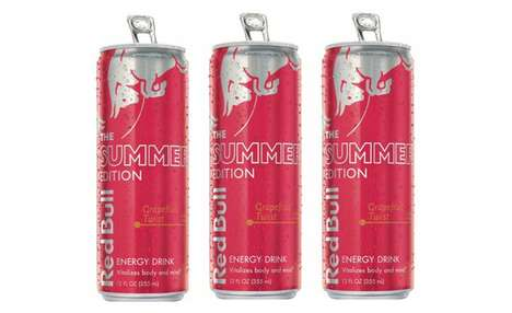 Special Edition Energy Drinks - The Red Bull Summer Edition Grapefruit Twist is Limited-Edition