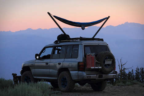 Collapsible Car Hammocks
