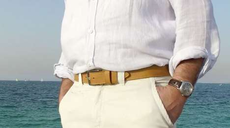 Indestructible Belt Designs - Harmattan Leather is Offering a Stylish High-Quality Belt