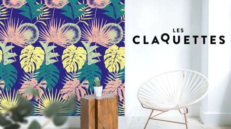Interchangeable Magnetic Wallpapers - Les Claquettes Aims to Make Interior Decorating Much Simpler