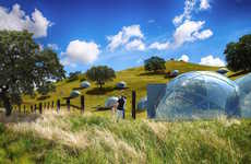 Modular Pre-Fab Shelters - The SmartDome is a Pre-fab Shelter That's Both Modular and Mobile