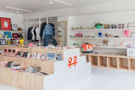 Permanent Pop-Up Shops - Bulletin Provides Brick-and-Mortar Space for the Sales of Online Goods