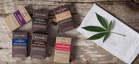 Sustainable Cacao Cannabis Chocolates