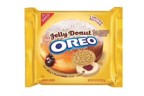 Donut-Flavored Sandwich Cookies
