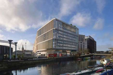 Health-Focused Tech Headquarters - Google's Kings Cross Campus Will Promote Employee Health