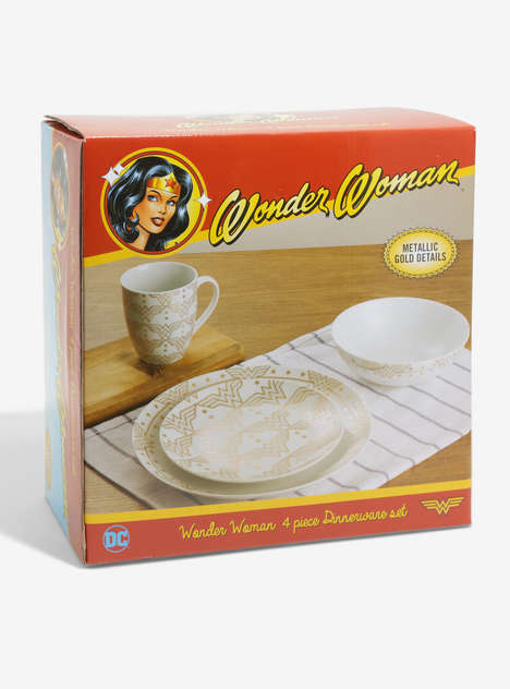 Comic Book Dinnerware Sets