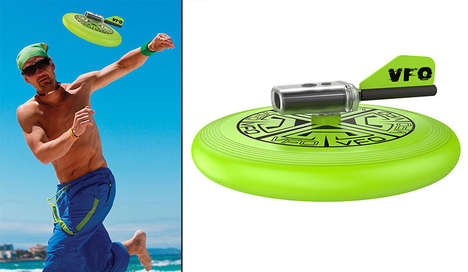 Video-Recording Frisbees - The 'VFO' Flying Disc Captures Trick Shots and Catches During Play