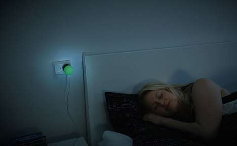 LED Lamp Chargers - The 'BrightCharger' Prevents Overcharging and Illuminates
