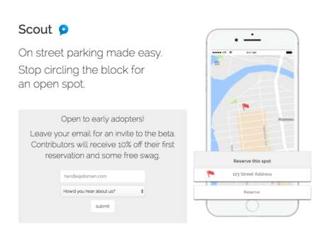 Street Parking-Locating Apps