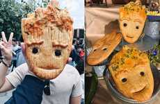 Theme Park Character Breads - The Groot Bread at Disney California Adventure Comes in Two Flavors