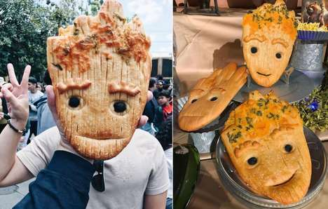 Theme Park Character Breads