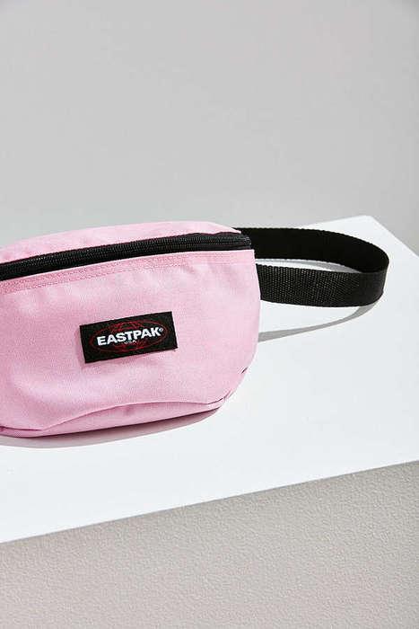 Blush 90s-Inspired Waist Bags