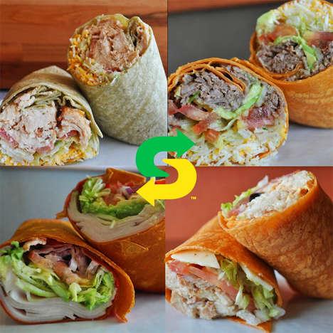 Artisanal QSR Sandwich Wraps