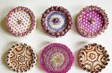 Bouquet-Themed Vegan Cakes - The Culinary Dots Brand Offers Ethereal Floral Cakes