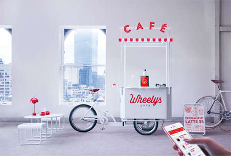 The Wheelys Mini is a Full-Service Cafe on Wheels