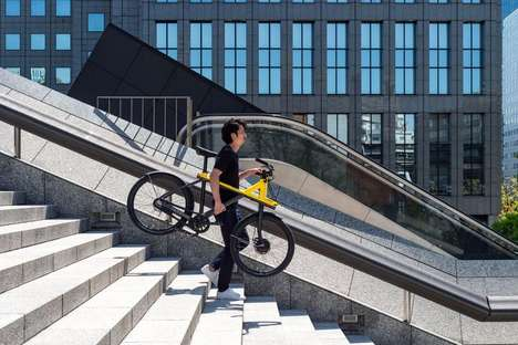 Top 40 Commuting Ideas in June - From Air-Purifying Bicycles to Biometric Subway Gates