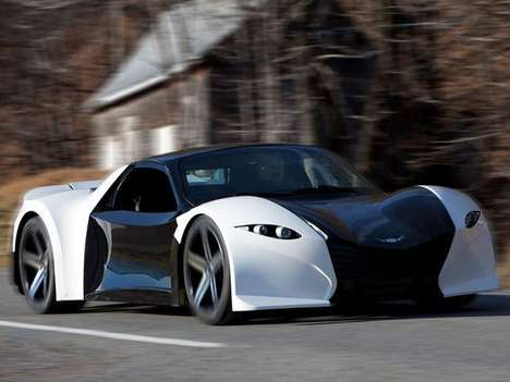 Electric Canadian Supercars - The Dubuc Motors Tomahawk Has a Claimed 0-60 MPH Time of 2.0 Seconds