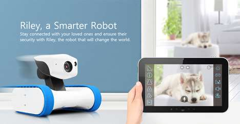 Robotic Pet Sitters - The Appbot Riley Robot Pet Camera Lets You Keep Tabs on Animals Home Alone