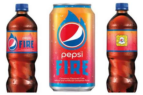 Socially Connected Soda Bottles - These Pepsi Bottles Give Access to Exclusive Filters on Snapchat