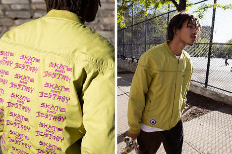 Pop-Art Emblazoned Streetwear