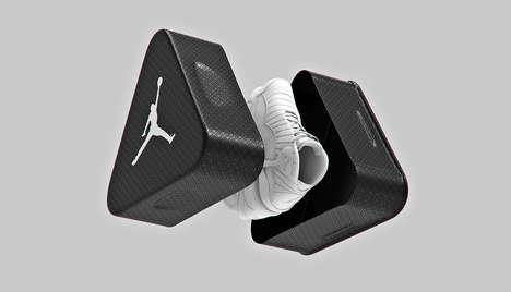 Triangular Aluminum Sneaker Shoeboxes