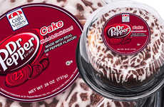 Soda-Infused Dessert Cakes - The Café Valley Bakery Dr Pepper Cake is Made with 23 Flavors