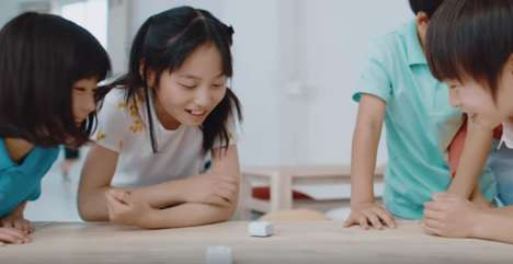 Coincidental Discovery Toys - Sony's 'toio' Lets Kids Build and Play with Robotics