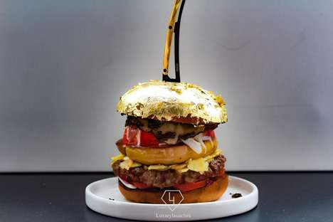 Lavish Gold Leaf Burgers