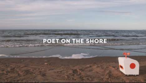 Poem-Generating Robots - 'Poet on the Shore' by Yuxi Liu is a Poem-Generating AI Bot