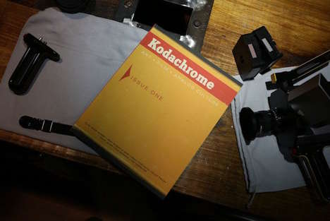 Analog Photography Magazines - Kodak's 'Kodachrome' is a New Journal on Art, Film and Culture