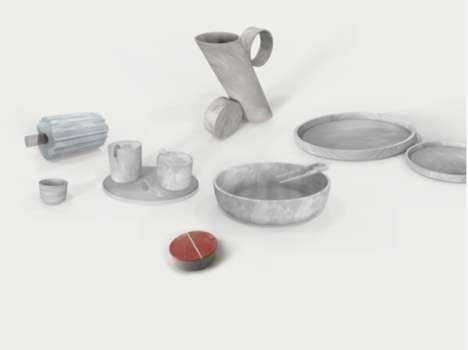 Ocean Plastic Tableware