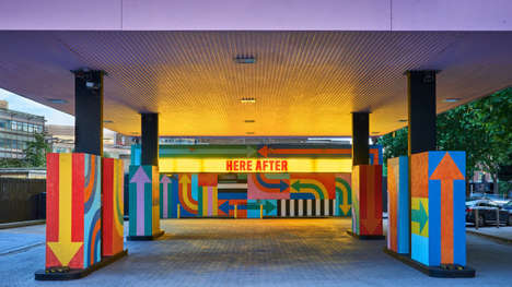 Psychedelic Gas Station Designs