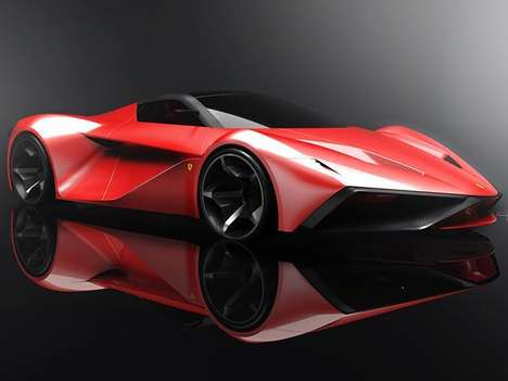 Conceptual Supercar Successors - The Ferrari Larossa 2020 is Designed to Succeed the LaFerrari