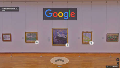 Search Engine Art Galleries - Google is Turning Searches for Art Into Virtual Museum Visits